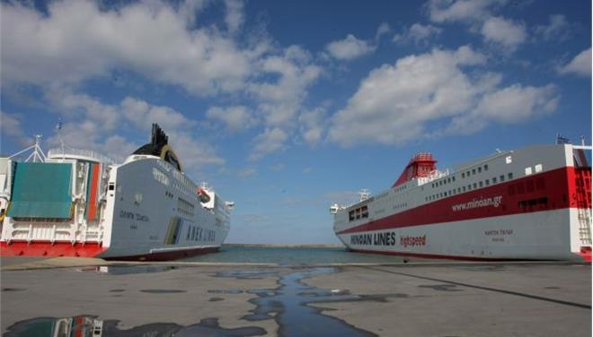 Σύγκρουση πλοίων χωρίς ζημιές