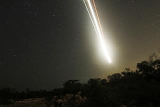 Μετεωρίτης έπεσε σε θαλάσσια περιοχή της Ζακύνθου