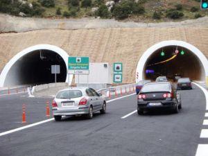 Κλειστό τμήμα του αυτοκινητοδρόμου Τρίπολης - Καλαμάτας