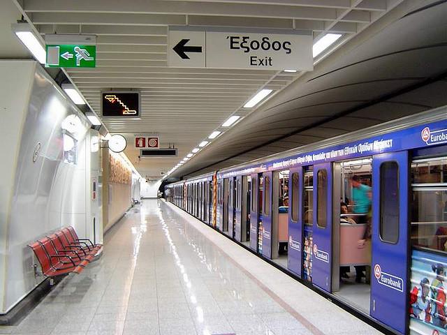 Όχι σε κάμερες μέσα στους συρμούς του μετρό