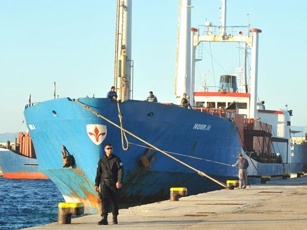 Βούλιαξε το πλοίο «Nour M» μέσα στο λιμάνι της Ρόδου