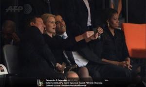 Το «ανάρμοστο» selfie  του Ομπάμα