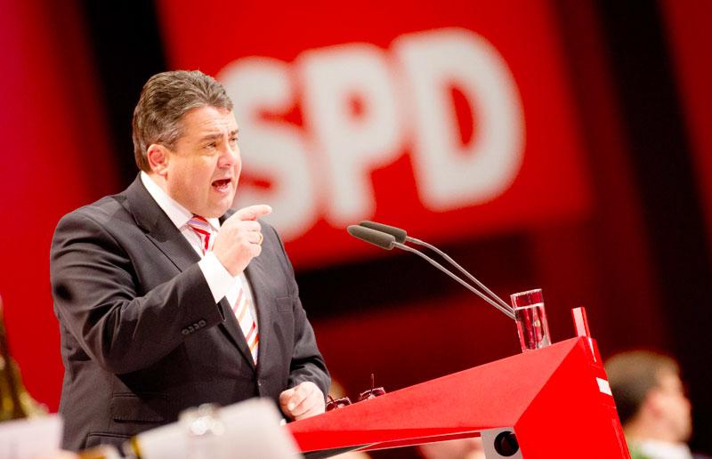 Το SPD ψηφίζει για το συνασπισμό με τους χριστιανοδημοκράτες