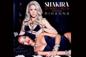 Ακούστε το νέο τραγούδι της Shakira με τη Rihanna (Βίντεο)