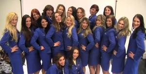 Οι αεροσυνοδοί της Ryanair τα...πέταξαν όλα!