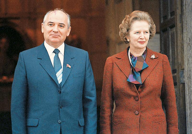 Ο Γκορμπατσόφ άρεσε στη Θάτσερ