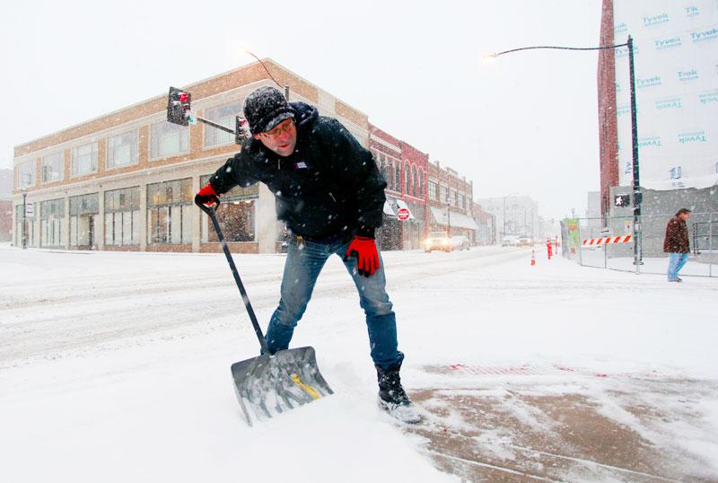 Σφοδρή χιονοθύελλα στις ΗΠΑ