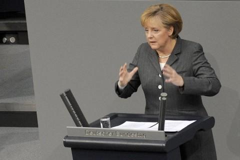 Μέρκελ:«Ισχυρή Γερμανία μόνο με ισχυρή Ευρώπη»
