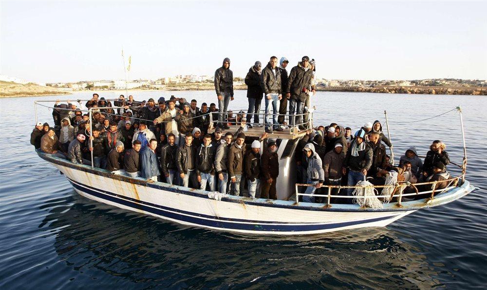 Διάσωση 23 παράνομων μεταναστών