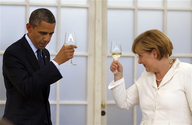 Ευχές Ομπάμα στη Μέρκελ για ταχεία ανάρρωση