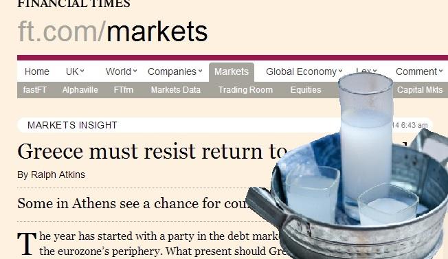 «Η επιστροφή της Ελλάδας στις αγορές είναι σαν να δίνεις ούζο σε αλκοολικό»!