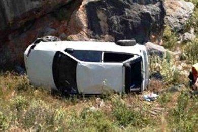 Βουτιά αυτοκινήτου σε γκρεμό στην Κρήτη