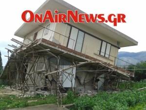 Εικόνες βιβλικής καταστροφής στην Κεφαλλονιά (Φωτό)