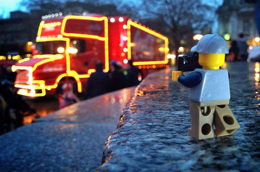 Ο φωτογράφος Lego