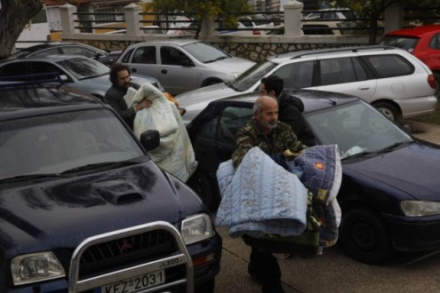 Έρανος στην Κομοτηνή για τους πληγέντες στο Ληξούρι