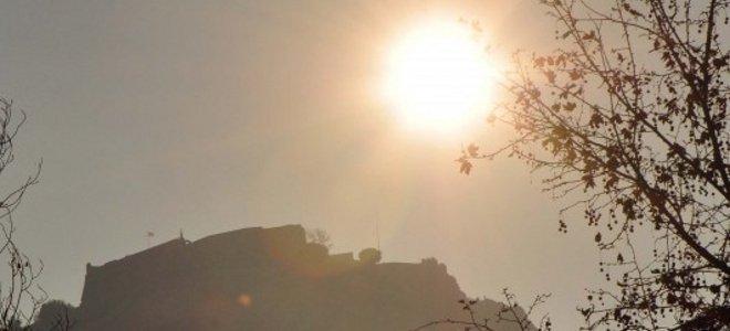 Υψηλές θερμοκρασίες και σκόνη από την Αφρική