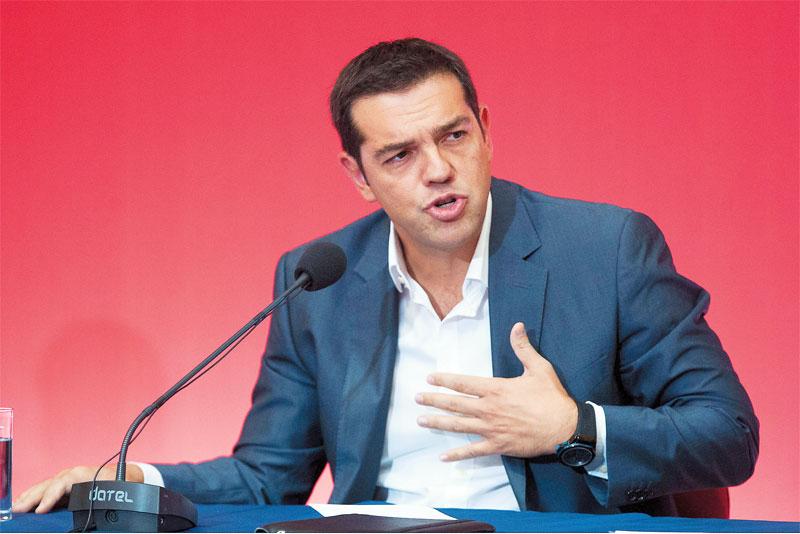 Τσίπρας: «Η Ελλάδα αλλάζει βιβλίο, όχι μόνο σελίδα»