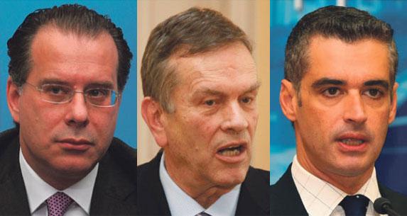 Απροθυμία γαλάζιων να στηρίξουν Άρη, Κουμουτσάκο, Ιωαννίδη