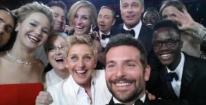 Το selfie των stars έσπασε κάθε ρεκόρ στο twitter