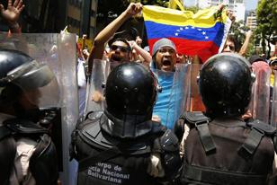 Καζάνι που βράζει η Βενεζουέλα