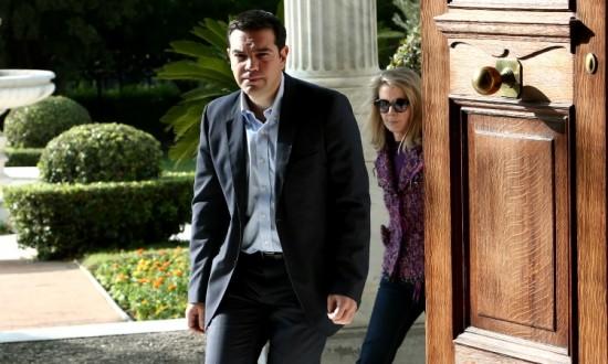 Karolos Papoulias - Alexis Tsipras / ??????? ????????? - ?????? ???????