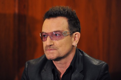 Bono meets Julie Bishop as part of campaign to raise awareness about HIV/Aids