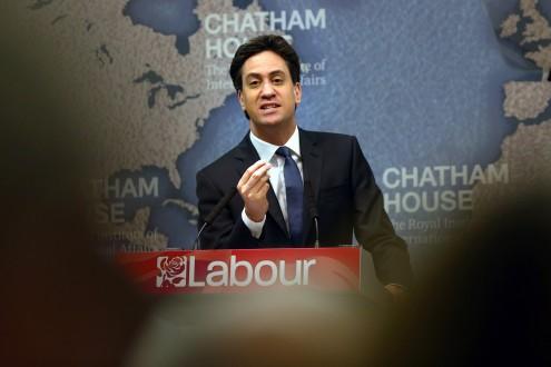 Labour Leader Speaks On Britain's International Responsibilities