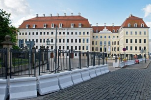 Preparations for G7 Finance Ministers meeting in Dresden