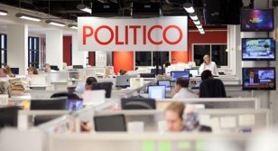 POLITICO Newsroom, shown in 2012. (M. Scott Mahaskey/POLITICO)