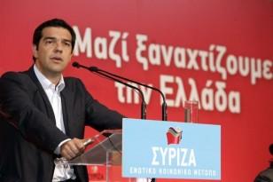 Tsipras sti sunedriasi tis KE tou SYRIZA bima