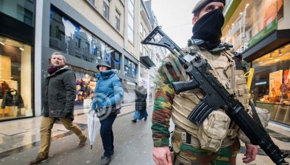 Belgium security raised