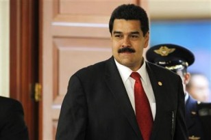 Venezuela's Vice President Maduro arrives at the summit of the Union of South American Nations in Lima