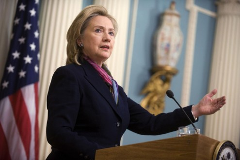 Secretary of State Clinton delivers remarks on the Wikileaks scandel.