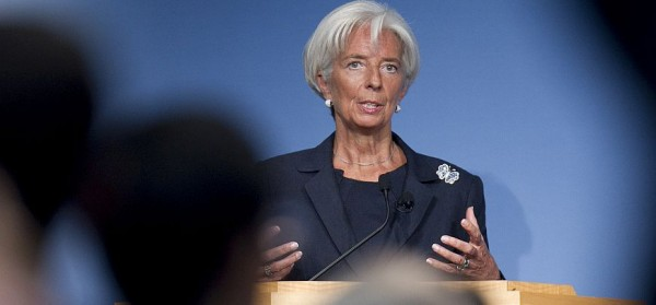 IMF Managing Director Christine Lagarde Speaks At Peterson Institute