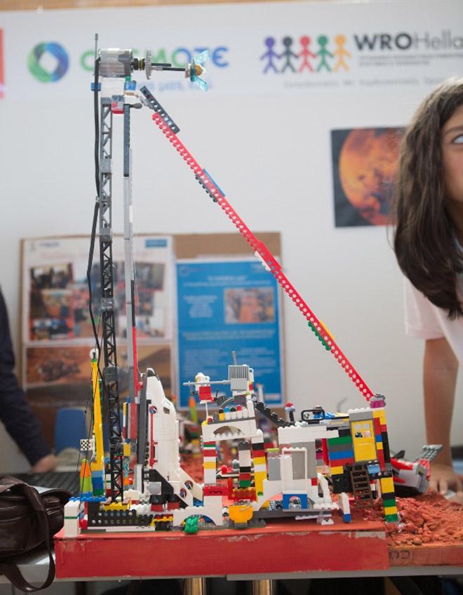 Η ρομποτική κατασκευή της ομάδας Robofantasy, 3η θέση