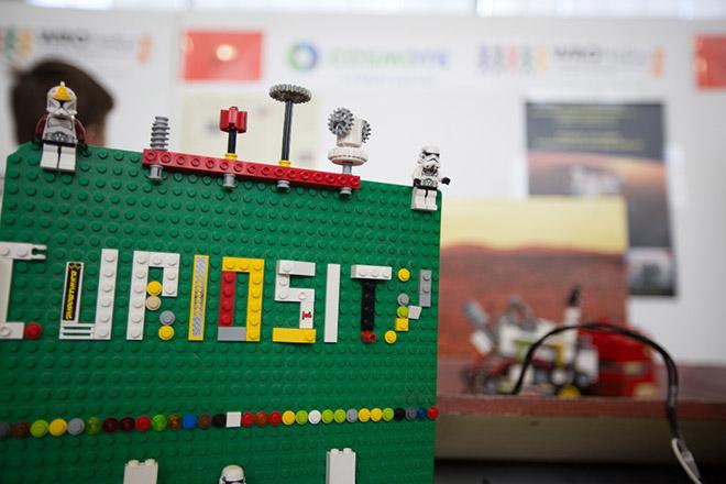 Ρομποτική κατασκευή μαθητών δημοτικού στο 2ου Πανελλήνιου Διαγωνισμού Εκπαιδευτικής Ρομποτικής