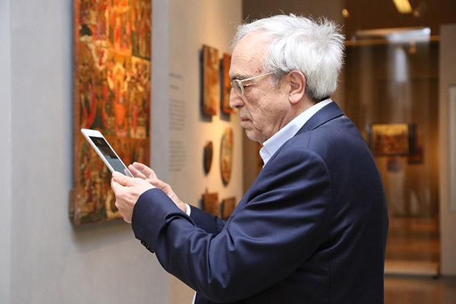 Ο Υπουργός Πολιτισμού και Αθλητισμού, κ. Αριστείδης Μπαλτάς