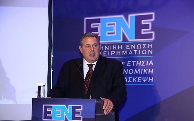 κ. Πάνος Καμμένος, Υπουργός Εθνικής Άμυνας