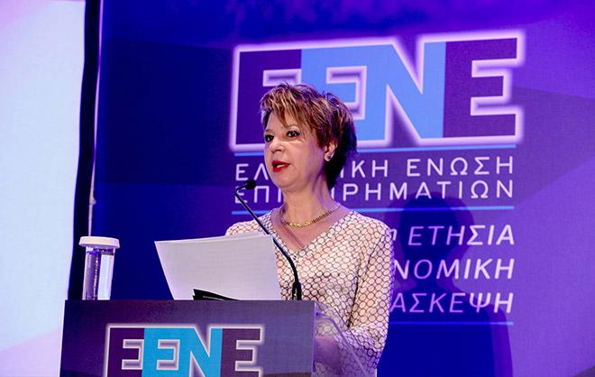 κα. Όλγα Γεροβασίλη, Υφυπουργός στον Πρωθυπουργό