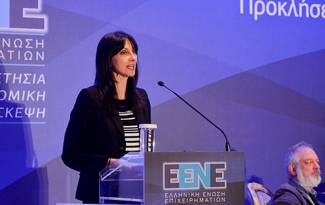 κα. Έλενα Κουντουρά, Αναπληρώτρια Υπουργός Τουρισμού
