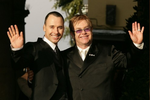 Wedding Day - Elton John & David Furnish - Windsor