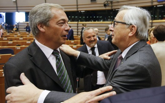 European Parliament session after British referendum to leave the EU