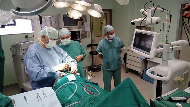 Μεταφορά NTMS data στο χειρουργειο. Διεγχειριτική νευροπλοήγηση