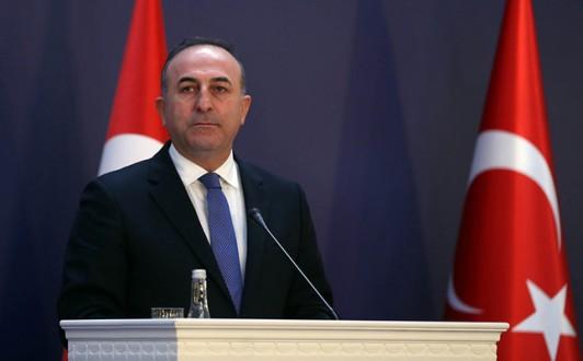 Dışişleri Bakanı Mevlüt Çavuşoğlu, (fotoğrafta) Avrupa