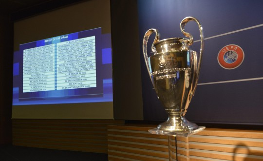 UEFA Champions League 2015/16 third qualifying round draw