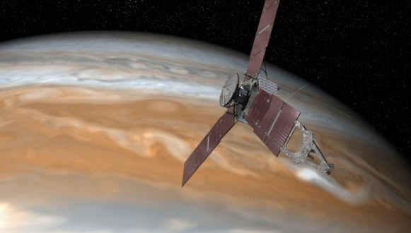 NASA's Juno Spacecraft to Risk Jupiter's Fireworks for Science