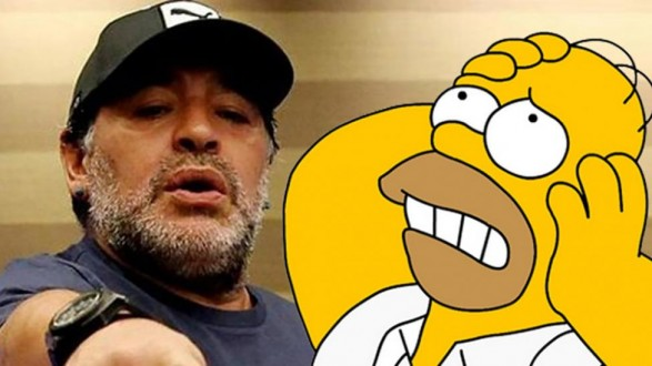 maradona-simpsons