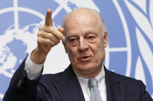 Switzerland UN  Syria Talks