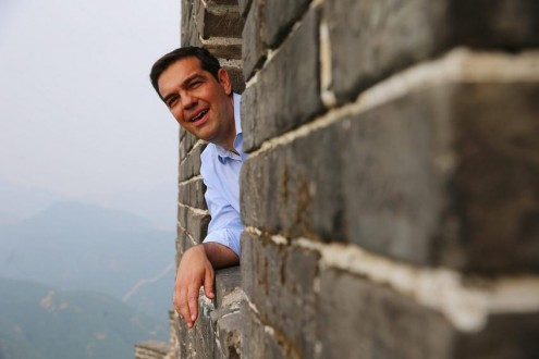 Greek Prime Minister Alexis Tsipras visits China