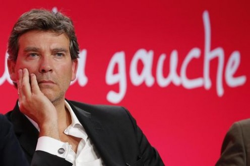 "Former French Economy Minister Montebourg, attends the Socialist Party's ""Universite d'ete"" summer meeting in La Rochelle"